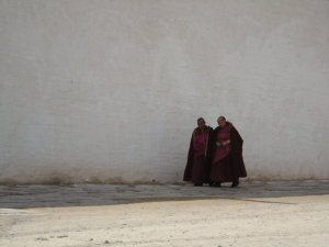 The monks of Labrang monastery