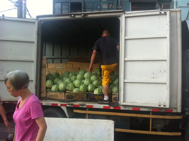 Just in case there is a sudden and immense demand for watermelons, this guy has got you covered. No worries.