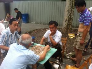 Mahjong open duzi.  Keeping things classy.