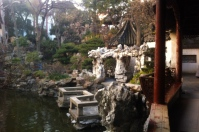 Another one of the items on my bucket list is the Yu Yuan garden. No no, not the garden super touristy one with all of the stalls, but the garden with the entrance fee. Keep your student ID, my friends, and use it until you are 50. YOU COULD BE A GRAD STUDENT OK?! Then ask for the student price and get the cost cut down in half. Original price is 30 RMB, but for me and my student ID, it was 15 RMB. That savings is 2 bubble teas - I think that is worth it.