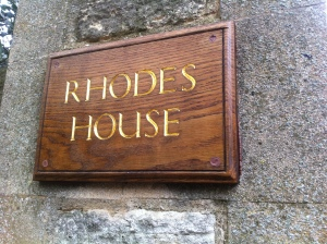 Billyboy would have seen this sign every day during his stint as a Rhodes Scholar at Oxford.